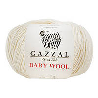 Пряжа Baby Wool, цвет экрю