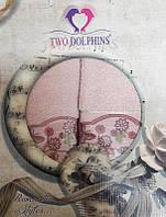Набор махровых полотенец Romantic styles lite pink