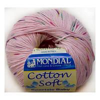 Пряжа Cotton Soft Color, цвет розовый