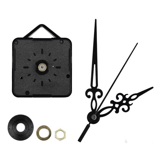 Часовые механизмы и стрелки