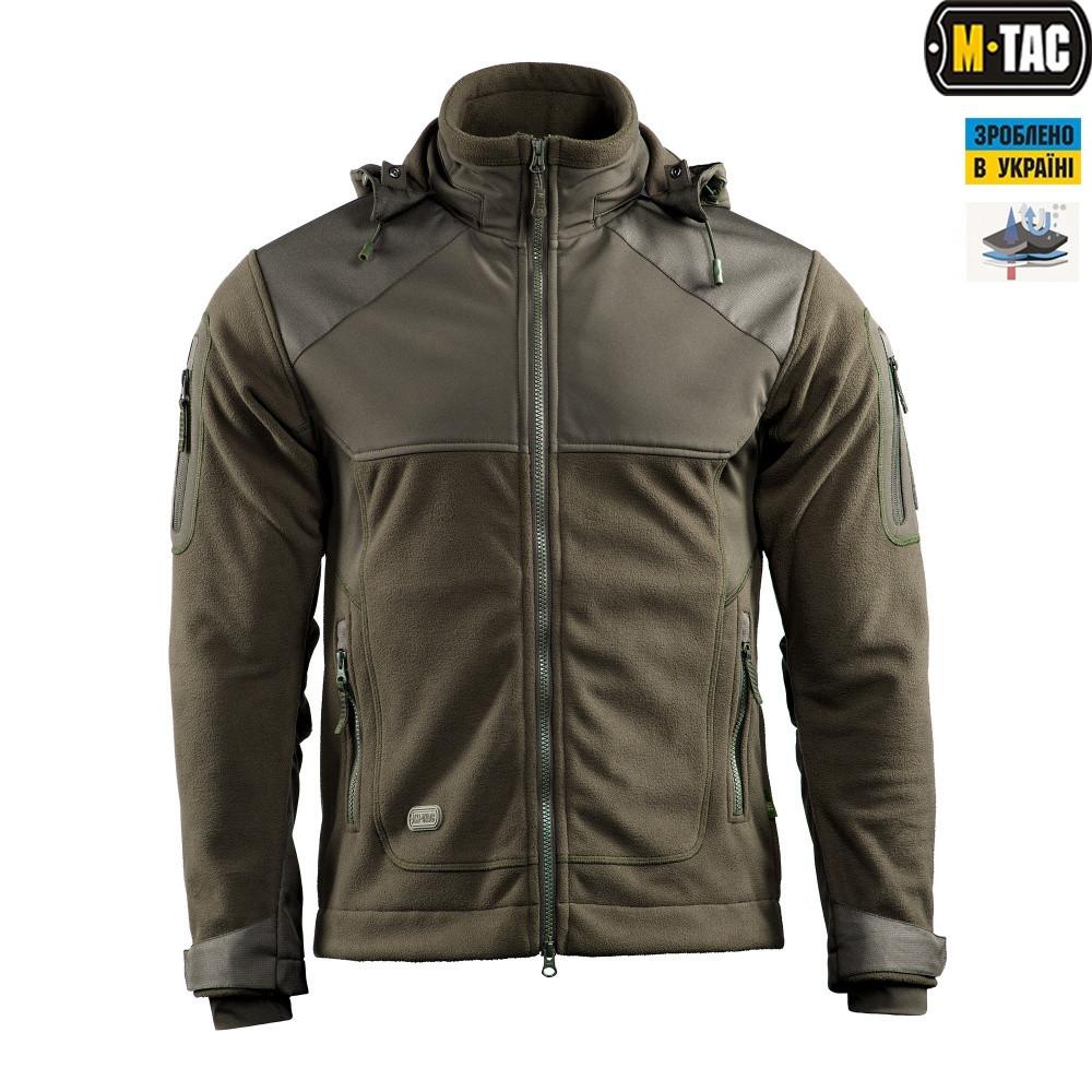 Куртка Norman Windblock Fleece оливковая