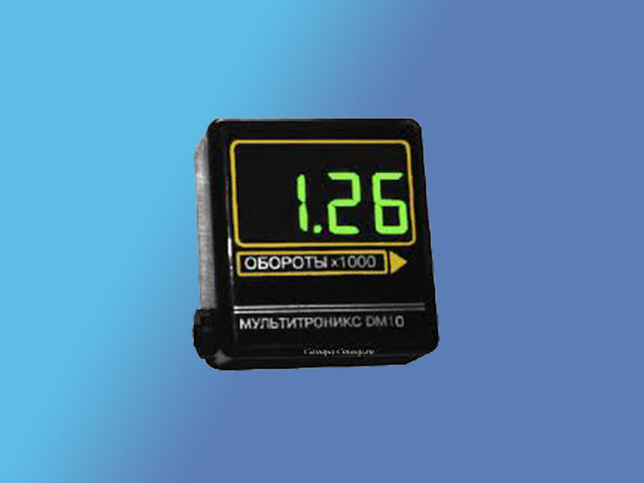 Multitronics DM 10.Тахометр Мultitronics