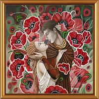 """Схема для частичной вышивки картин бисером """"Влюбленная пара"""""""