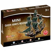 Трехмерная модель CubicFun Месть королевы Анны мини (S3031h)