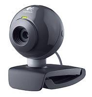 БУ Web-камера USB Logitech Webcam C200, VGA (640x480), ручной фокус, микрофон (960-000420)