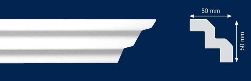 Потолочный карниз T-70