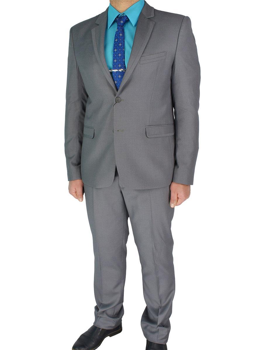Чоловічий сірий костюм Legenda Class 10176#1