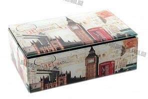 """Шкатулка стеклянная London bridge (18.5x12x6.5 см) """"LP"""" купить оптом со склада"""