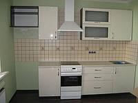 кухня прямая МдФ покраска