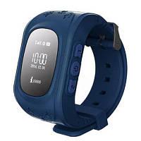 Детские часы Q50 с GPS Темно-Синие