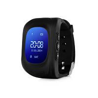 Детские часы Q50 с GPS Черные