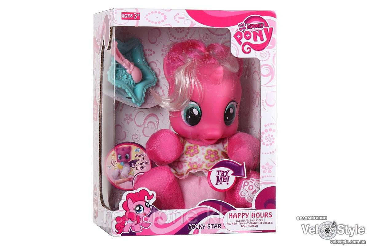 Лошадка Пони Единорог My Little Pony 66211/2 с аксессуарами музыка свет