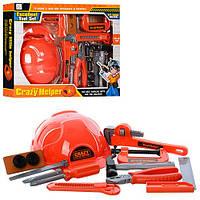 Набор инструментов 3288-C3 (36шт) каска, молоток,плоскогуб,отвертка,нож, в кор-ке, 40-32,5-6,5см
