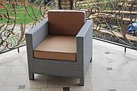 """Кресло """"Классик"""" из искусственного ротанга. ТМ GreenGard"""