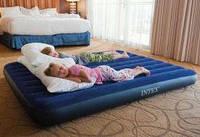 Полутораспальный надувной матрас Intex 68758 137х191х22 см