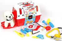 Игровой набор доктор 231, собачка в чемодане