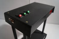 Вимірювач швидкості кулі для вогнепальної зброї Хронограф хр700 , провідний скидання даних на пк.