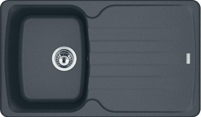 Мийка кухонна Franke AZG 611-86 графіт