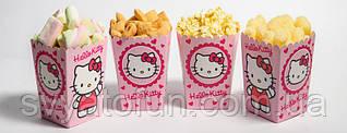 """Коробочка для попкорна и сладостей """"Hello Kitty"""""""