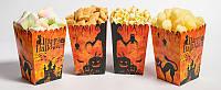"""Коробочка для попкорну та солодощів """"Хеллоуин"""""""
