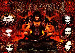 Плакат Cradle of Filth 02