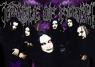 Плакат Cradle of Filth 03