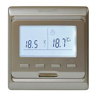 Программируемый терморегулятор Heat Plus M6.716 Silver