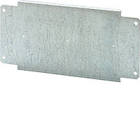 Плита монтажная металлическая с регул.глубиной h = 150мм для шкафов шириной 600мм