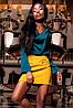 Роскошная Шелковая Блуза Туника Изумрудная S-XL