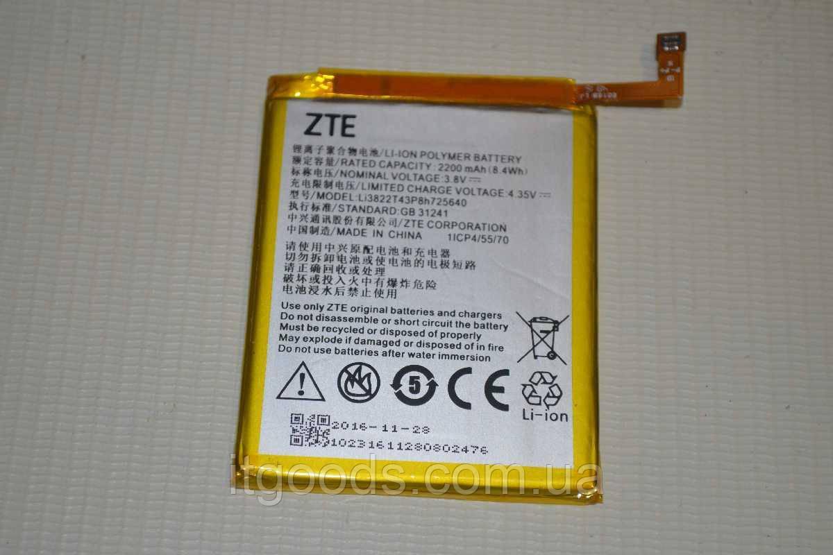Оригинальный аккумулятор Li3822T43P8h725640 для ZTE Blade A510 2200mAh