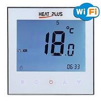 Сенсорный программируемый терморегулятор c Wi-Fi Heat Plus iTeo 4 White