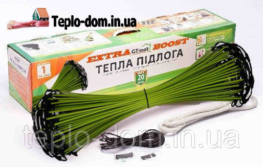 Стержневой инфракрасный теплый пол GTmat ExtraBOOST S-109 9 пог.м