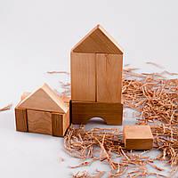 Конструктор деревянный 'Домик'