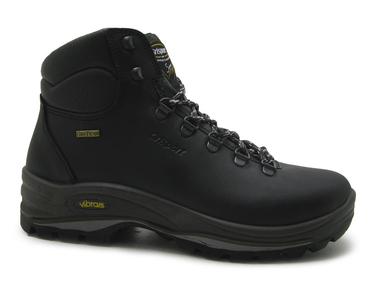 Зимние спортивные кожаные ботинки оригинал мужские черные