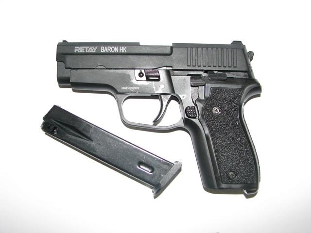 Пистолеты пневматические,стартовые, револьверы под патрон флобера
