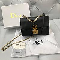 Сумка Dior Dioraddict medium черная кожа