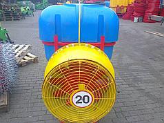 Опрыскиватель садовый с редукторным вентилятором и медными форсунками Velmet 800 л (Польша)
