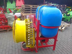 Опрыскиватель садовый с редукторным вентилятором и медными форсунками Velmet 800 л (Польша), фото 2