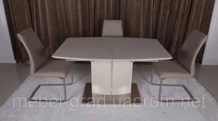Стол обеденный (раскладной) Dallas / Даллас Nicolas капучино