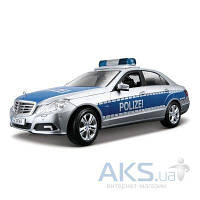 Автомодель Maisto Mercedes Benz E-Class German Police (36192) Серебристо-синий