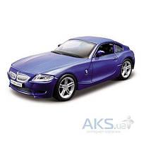 Автомодель Bburago BMW Z4 M Coupe 1:32 (18-43007) Синий металлик