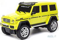 Автомодель GearMaxx Mercedes-benz G500 1:26 (89801) (свет, звук, инерц.) ассорти желтый, серебристый