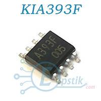 KIA393F, компаратор двухканальный, SOP8