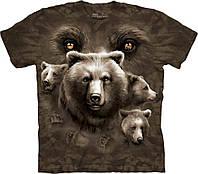 3D футболка мужская The Mountain р.M 50-52 RU футболки 3д (Взгляд Медведя)