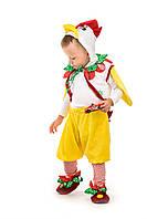Карнавальный костюм для мальчика Петушок кроха
