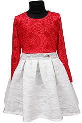Платье Бомба гипюр подросток р.140-146-152