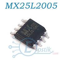 MX25L2005-15G, Микросхема биос 8MBit SPI Flash, DIP-8