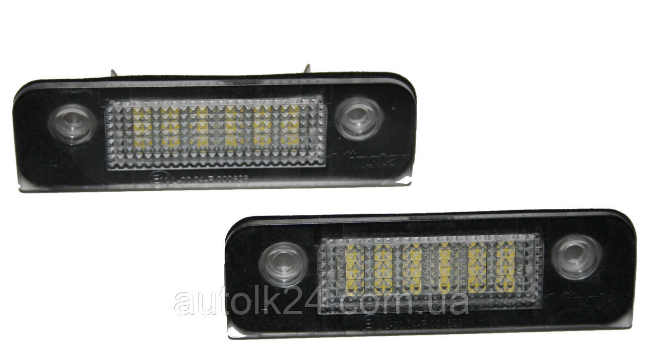 LED Подсветка номера Ford Mondeo Mk2 96-00,Ford Fiesta 01-, Fusion 01-,