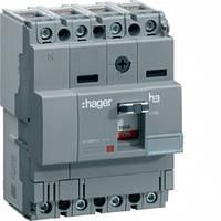 Автоматический выключатель x160, In = 100А, 4п, 18kA, Тфикс. / Мфикс.