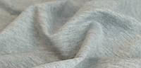 Футер трехнитка (без начеса) светло-серый меланж